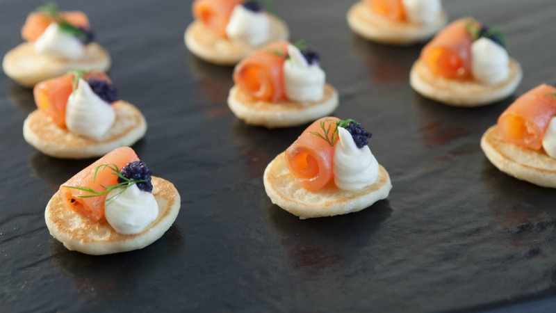 Corporate or Private Canapés Party Delivery