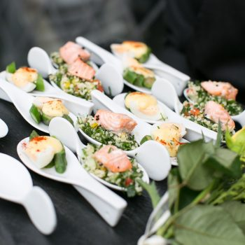 Food gallery catering services buzz events catering ltd for Canape delivery