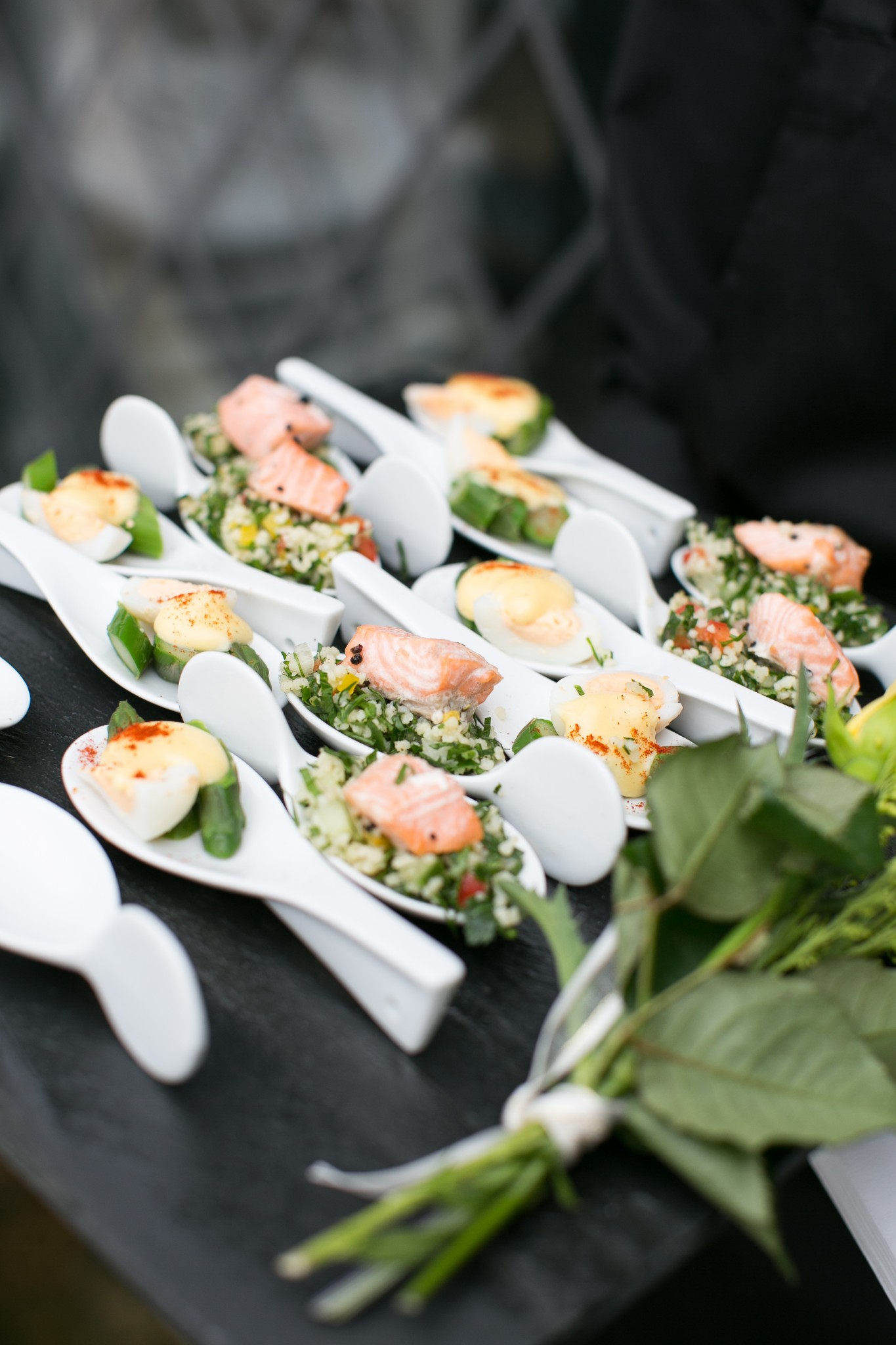 Food gallery catering services be catering for Canape delivery london
