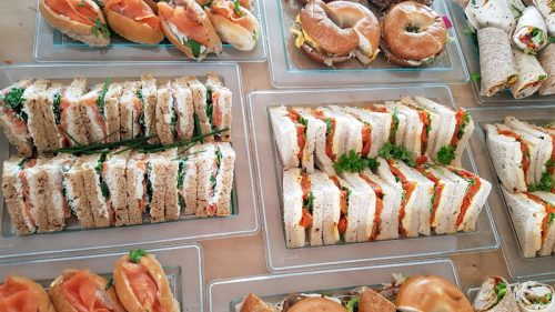 Food Delivery Sandwich Platters