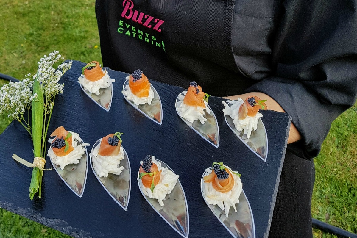 party canapes delivery