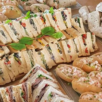Sandwiches and finger buffet delivery in Brighton
