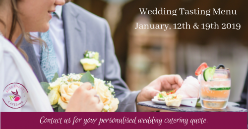 Wedding tasting menu 2019